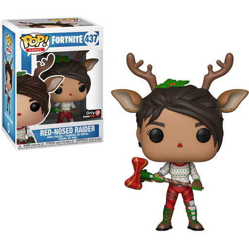 Funko POP! Fortnite - Red-Nosed Raider Vinyl Figure #437 GameStop Exclusive (NOT 100% MINT)