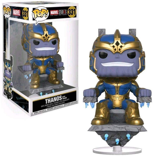 Funko POP! Marvel Studio - Thanos with Throne #331 Exclusive [READ DESCRIPTION]