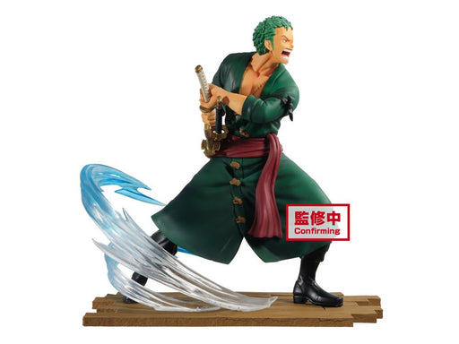 Banpresto: One Piece Log File Selection - Roronoa Zoro Figure (Vol. 1)