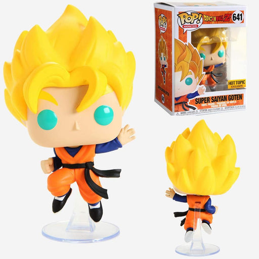 Funko POP! Dragon Ball Z - Super Saiyan Goten Vinyl Figure #641 Hot Topic Exclusive (NOT 100% MINT)