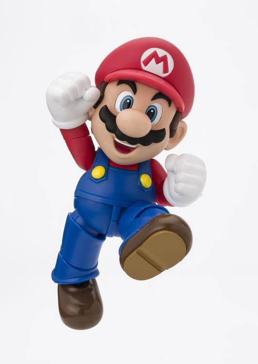 Tamashii Nations S.H. Figuarts: Super Mario Brothers - Mario (New Package Ver.)