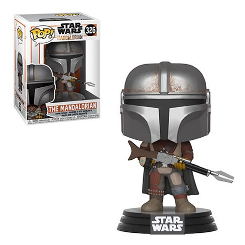 Funko POP! Star Wars: The Mandalorian - The Mandalorian Vinyl Figure #326