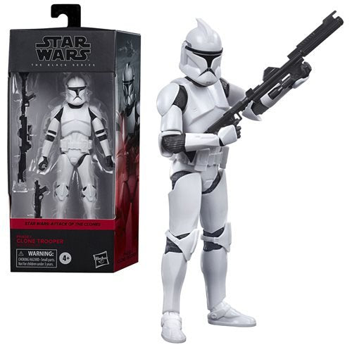 Star Wars: The Black Series - Clone Trooper (Attack of the Clones) 6-Inch Action Figure