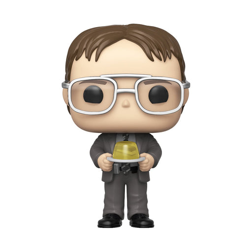Funko POP! The Office - Dwight with Jello Stapler Vinyl Figure