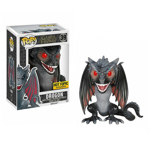 Funko POP! Game of Thrones - Drogon 6-Inch Vinyl Figure #39 Hot Topic Exclusive (NOT 100% MINT)