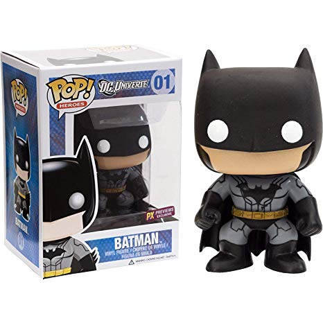 Funko POP! DC Universe - Batman Vinyl Figure Preview Exclusives #1 (PX) (NOT 100% MINT)