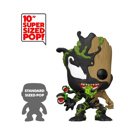 Funko POP! Marvel: Max Venom - Venomized Groot 10-Inch Vinyl Figure