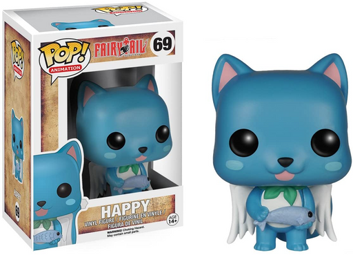 Funko POP! Fairy Tail - Happy Vinyl Figure #69