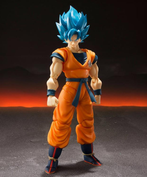 Tamashii Nations S.H. Figuarts: Dragon Ball Super- Super Saiyan God Super Saiyan Goku