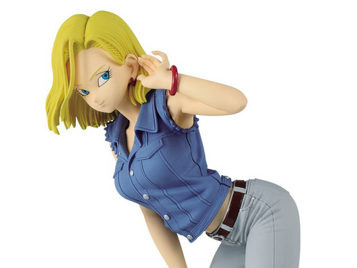 Banpresto: Dragon Ball Glitter & Glamours - Android 18 (Blue Color)