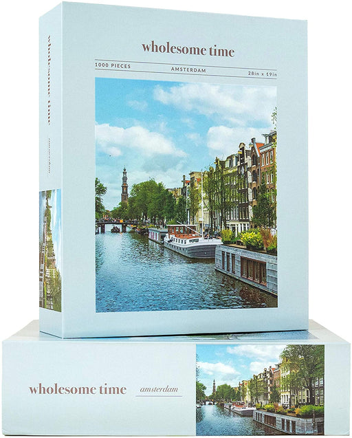 Jeneral Collectives: wholesome times - Amsterdam 1000 Piece Jigsaw Puzzle