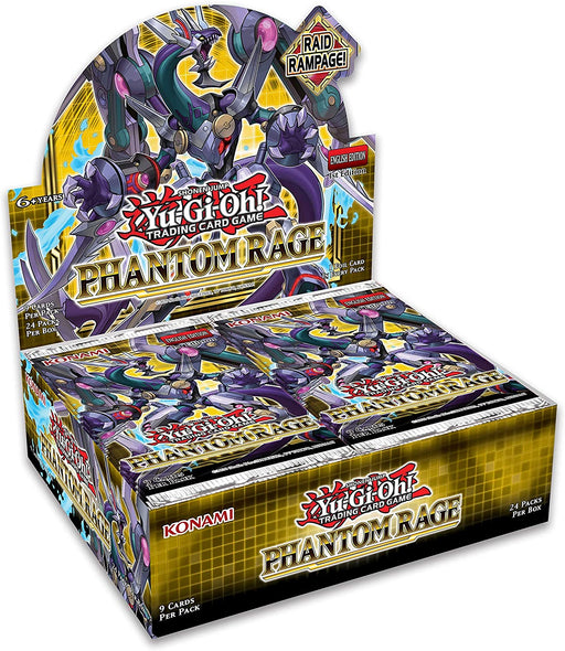 Yu-Gi-Oh! Trading Card Game: Phantom Rage Booster Box