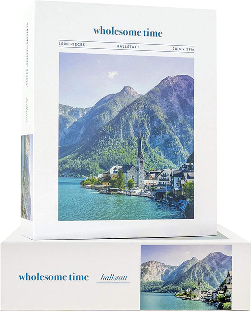 Jeneral Collectives: wholesome times - Hallstatt 1000 Piece Jigsaw Puzzle