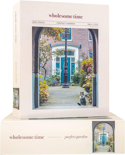 Jeneral Collectives: wholesome times - Purfect Garden 1000 Piece Jigsaw Puzzle