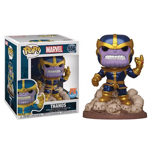 Funko POP! Guardians of the Galaxy - 6-Inch Thanos Snap Vinyl Figure Preview Exclusives (PX) (READ DESCRIPTION)