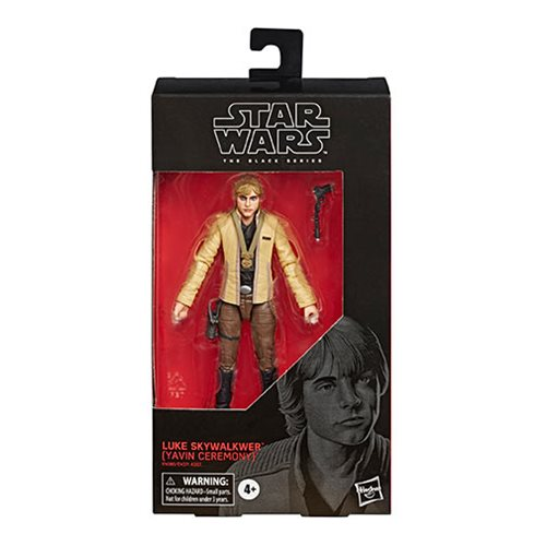 Star Wars: The Black Series - Luke Skywalker Yavin Ceremony 6-Inch Action Figure #100
