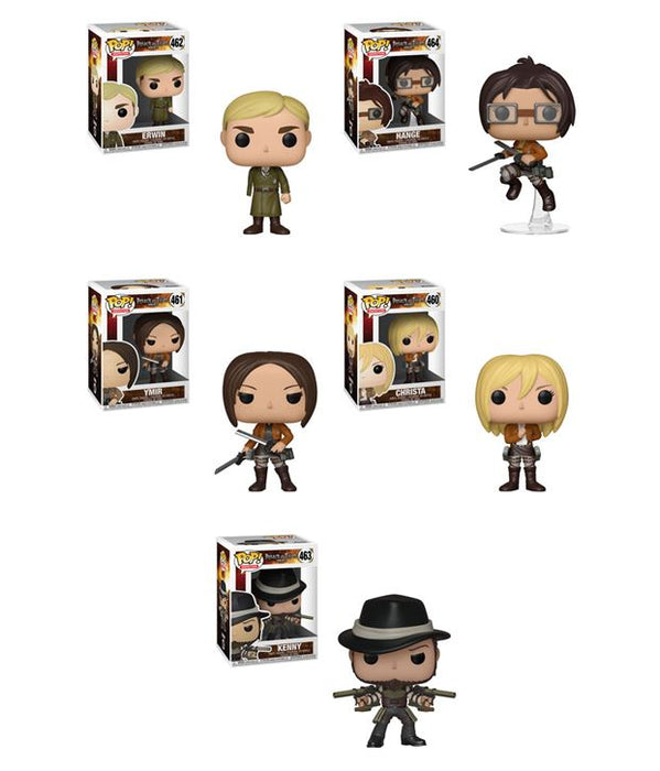 Funko POP! Attack on Titan - Season 3 Complete Set of 5