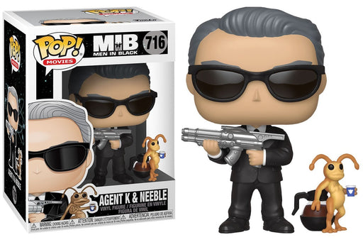 Funko POP! Men In Black - Agent K & Neeble Vinyl Figure #716