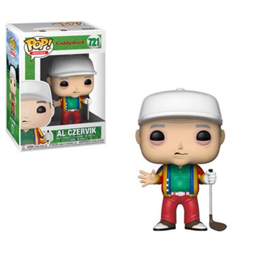 Funko POP! Caddy Shack - Al Czervik Vinyl Figure #721