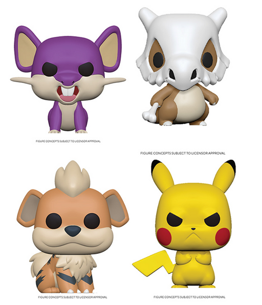 [PRE-ORDER] Funko POP! Pokemon - S3 Set of 4