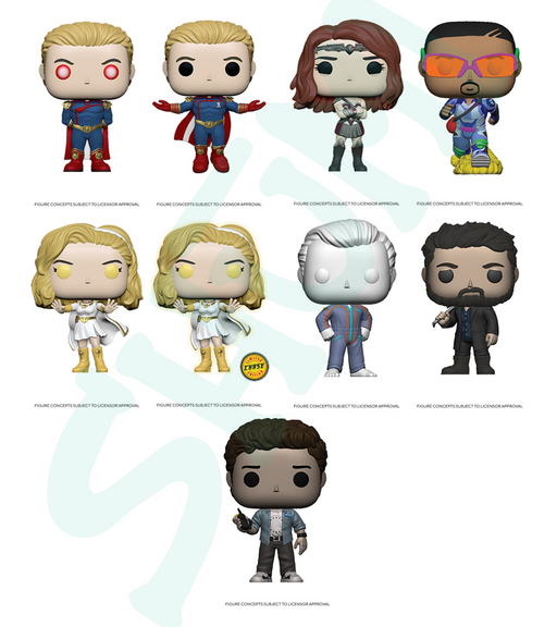 [PRE-ORDER] Funko POP! The Boys - Set of 9 Chase Included