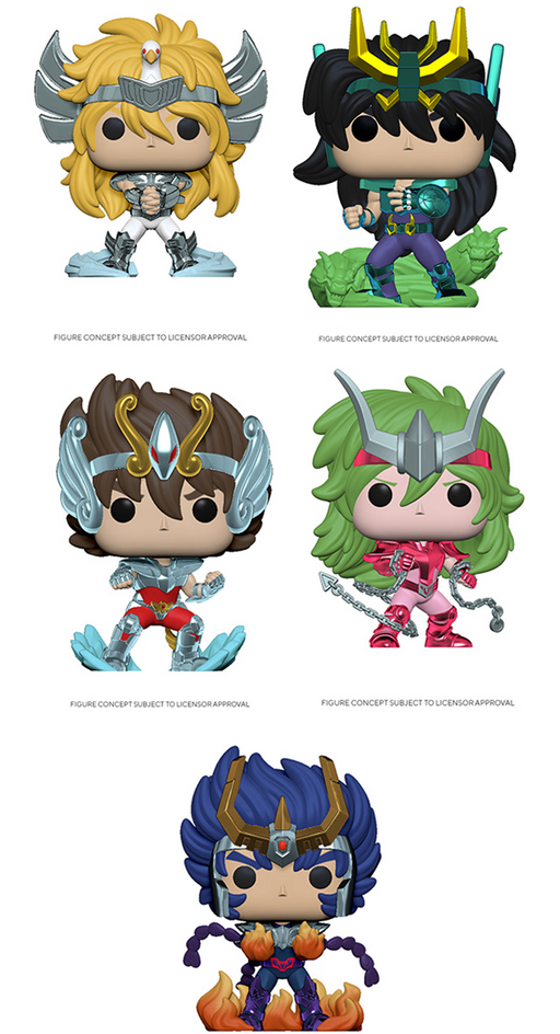 [PRE-ORDER] Funko POP! Saint Seiya - Set of 5