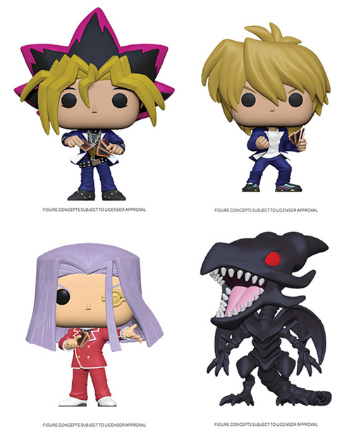 [PRE-ORDER] Funko POP! Yu-Gi-Oh - S2 Set of 4