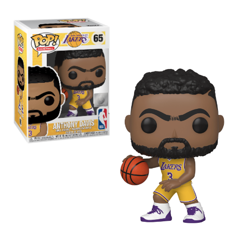 Funko POP! NBA: Lakers - Anthony Davis (Yellow Jersey) Vinyl Figure