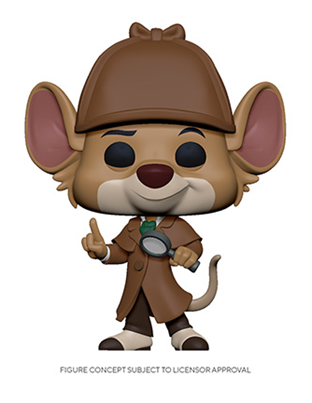 [PRE-ORDER] Funko POP! Disney: The Great Mouse Detective - Basil Vinyl Figure