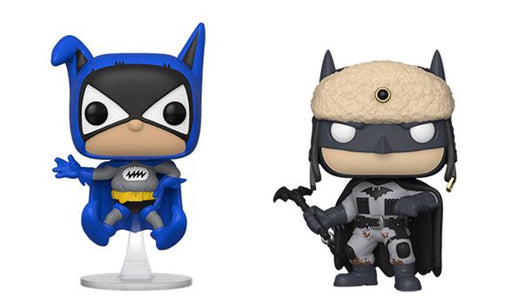Funko POP! Batman 80th - Set of 2 (Bat-Mite & Red Son Batman)