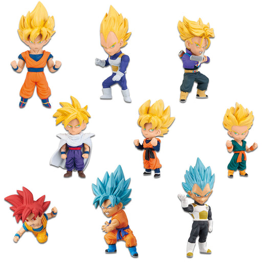 Banpresto: Dragon Ball Z World Collectable Figure Super Saiyans Box of 12 Figures