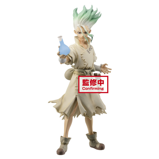 [PRE-ORDER] Banpresto: Dr. Stone - Figure Of Stone World Senku Ishigami