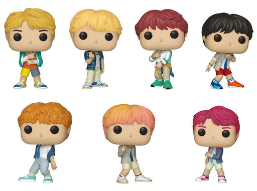 Funko POP! Rocks: BTS - Complete Set of 7