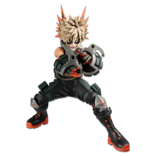 Banpresto: My Hero Academia Enter The Hero - Katsuki Bakugo Figure
