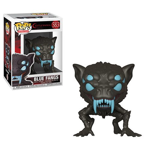 Funko POP! Castlevania - Blue Fangs Vinyl Figure #583