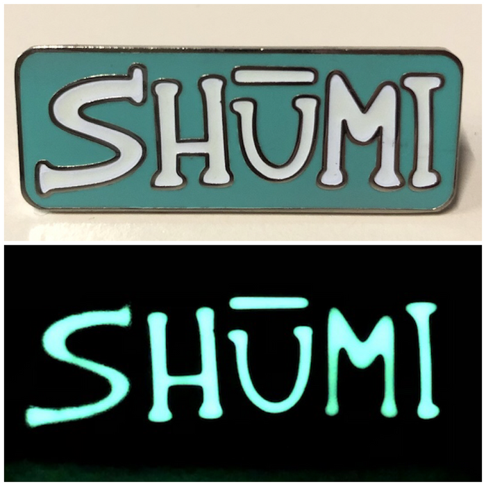Classic Shumi Glow In The Dark Limited Edition Pin - DONATIONS AND FREE SHIPPING