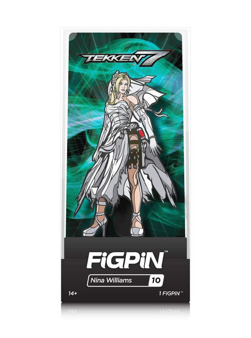 FiGPiN: Tekken 7 - Nina Williams #10