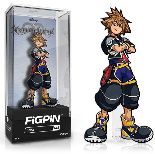 FiGPiN: Kingdom Hearts - Sora #145