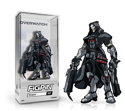 [PRE-ORDER] FiGPiN: OVERWATCH® - Reaper #167