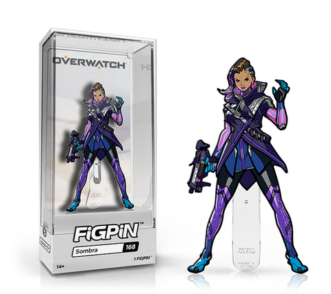 [PRE-ORDER] FiGPiN: OVERWATCH® - Sombra #168