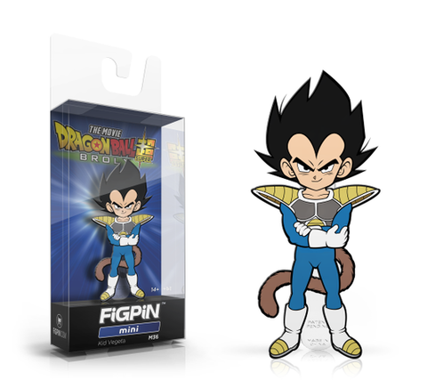 [PRE-ORDER ETA JUNE] FiGPiN Mini: Dragon Ball Super: Broly The Movie - Kid Vegeta #M36