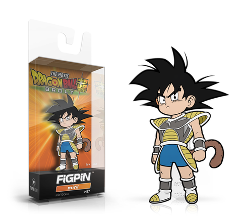 [PRE-ORDER ETA JUNE] FiGPiN Mini: Dragon Ball Super: Broly The Movie - Kid Goku #M37