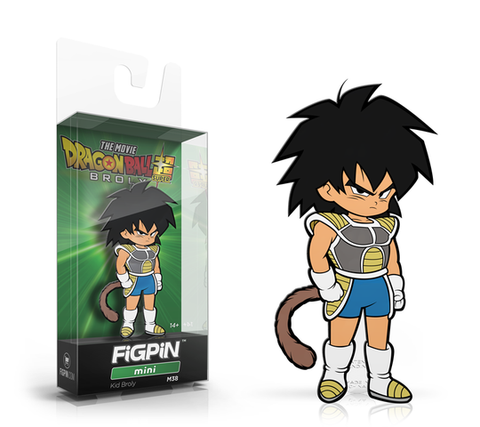 [PRE-ORDER ETA JUNE] FiGPiN Mini: Dragon Ball Super: Broly The Movie - Kid Broly #M37