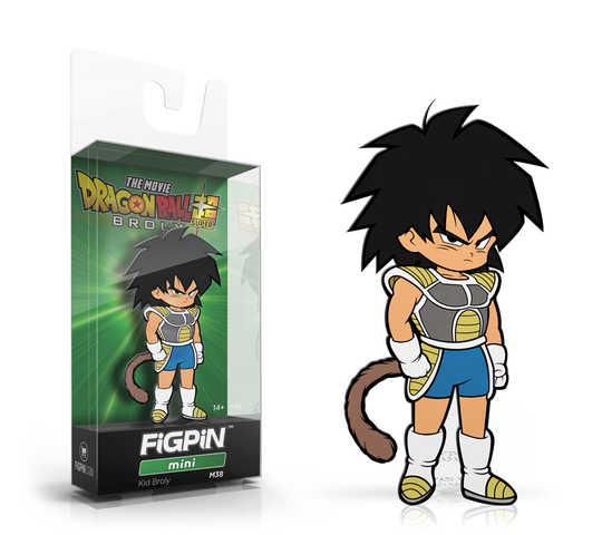 FiGPiN Mini: Dragon Ball Super: Broly The Movie - Kid Broly #M38