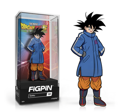 [PRE-ORDER ETA JUNE] FiGPiN: Dragon Ball Super: Broly The Movie - Goku #191
