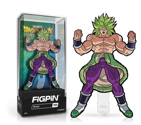 [PRE-ORDER ETA JUNE] FiGPiN: Dragon Ball Super: Broly The Movie - Broly #193
