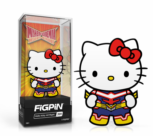FiGPiN: My Hero Academia x Sanrio - Hello Kitty All Might #391