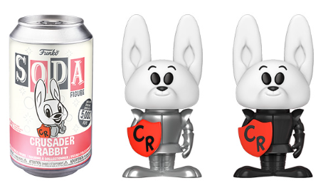 Funko Vinyl SODA: Ad Icon - Crusader Rabbit Vinyl Figure