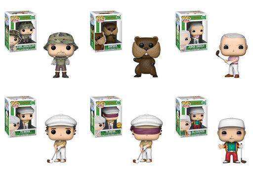 Funko POP! Caddy Shack - Complete Set of 6 Chase Included