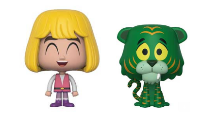 Funko VYNL: Masters of the Universe - Prince Adam & Cringer (2-Pack) Vinyl Figures